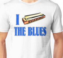 I Harp The Blues Unisex T-Shirt