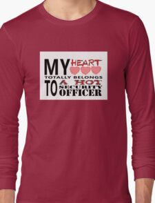 My Heart Belongs - Security Long Sleeve T-Shirt