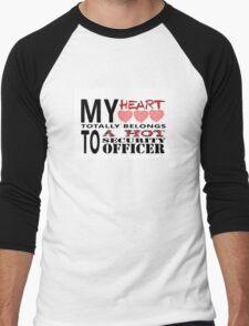 My Heart Belongs - Security Men's Baseball ¾ T-Shirt