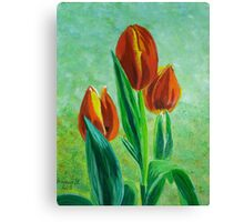Tulips for Rick Canvas Print