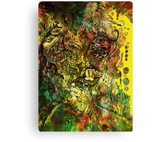 Face the front! Canvas Print