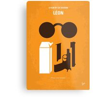 No239 My LEON minimal movie poster Metal Print