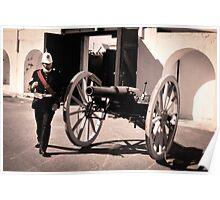 Fort Glanville Barracks in SA Poster