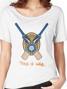 India Cricket - This is War Women's Relaxed Fit T-Shirt