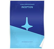 No240 My Inception minimal movie poster Poster