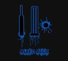 Bleed Blue for India Womens Fitted T-Shirt