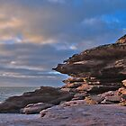Cliffs at Kalbarri by Yukondick