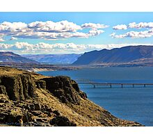 Beautiful Vantage - Columbia River Gorge Photographic Print