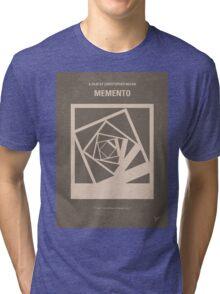 No243 My Memento minimal movie poster Tri-blend T-Shirt