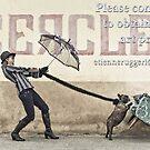 Sauf qu'à Bull le Sofa Dog by Etienne RUGGERI Artwork
