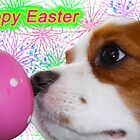 Happy Easter ~ Cavalier King Charles Spaniels by daphsam