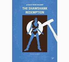 No246 My THE SHAWSHANK REDEMPTION minimal movie poster T-Shirt