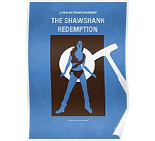 No246 My THE SHAWSHANK REDEMPTION minimal movie poster Poster