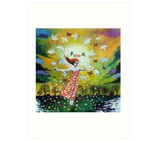 'Awakening (First Dance of Spring)' Art Print