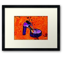 Shoebedoo 2 Framed Print
