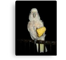 Margaret and the Corn Canvas Print