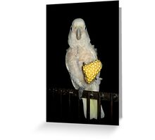 Margaret and the Corn Greeting Card