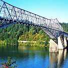 Bridge Of The Gods...Old Hwy 30, Cascade Locks, Ore. by trueblvr