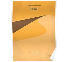 No251 My DUNE minimal movie poster Poster