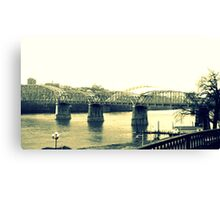 cincinnati bridge Canvas Print