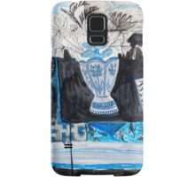 Flowers and Fabric one Samsung Galaxy Case/Skin