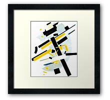 Abstract Lines Framed Print