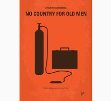 No253 My No Country for Old men minimal movie poster Unisex T-Shirt