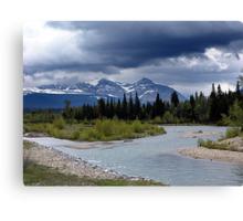 Near Payne Lake, Alberta Canvas Print