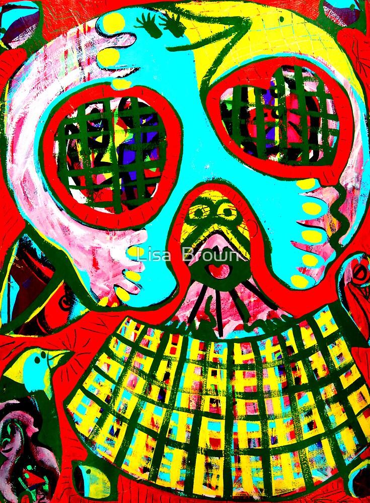 Skullman by Lisa  Brown