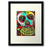 Skullman Framed Print