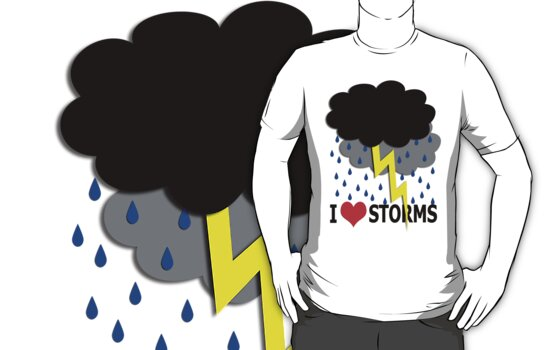 i love storms by dedmanshootn