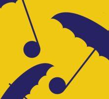 No254 My SINGIN IN THE RAIN minimal movie poster Sticker