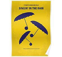 No254 My SINGIN IN THE RAIN minimal movie poster Poster