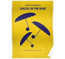 No254 My SINGIN IN THE RAIN minimal movie poster Poster
