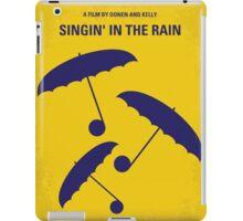 No254 My SINGIN IN THE RAIN minimal movie poster iPad Case/Skin
