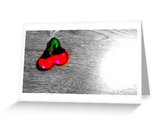 simply cherry Greeting Card