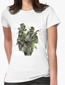 Metal Gear Solid - Yoji Shinkawa Artbook (Scan) Womens Fitted T-Shirt