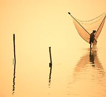 sunrise, amarapura by laurence nelson
