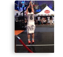 JHutch jump shot Canvas Print