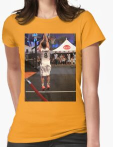 JHutch jump shot Womens Fitted T-Shirt