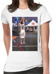JHutch jump shot Womens Fitted T-Shirt