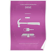 No258 My DRIVE minimal movie poster Poster