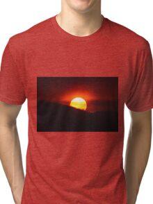 Smokey Sunset Tri-blend T-Shirt