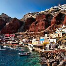 Ammoudi Village in Santorini, Greece by InterfaceImages