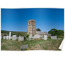 Abbey Church of St Peters Abbotsbury Poster