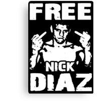 Free Nick Diaz Canvas Print