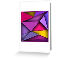 Pieces Greeting Card