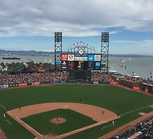 AT&T Park by hitomimyhomie