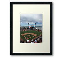 AT&T Park Framed Print
