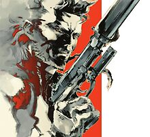 Metal Gear Solid 2: Sons of Liberty - Yoji Shinkawa Artbook (Scan) by frictionqt